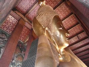 liegende Budha Statue in Wat Pho