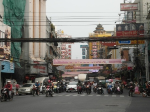 Chinatown - Verkehr