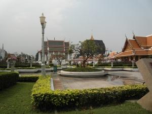 Park von Wat Ratchanatdaram