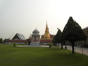 Wat Phra Kaew von Aussen
