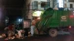 Phnom Penh Abfall-Abfuhrzeit
