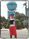 Özlem carry the globe