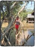 einmischen Ich bei Mekong Delta Ausflug