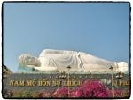 Buddha bei Mekong Delta Ausflug