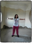 ich und das verrückte Haus, irgendwie fühlte ich mich da wie zu Hause:-)
