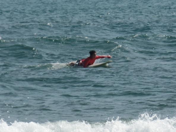 paddeln surfen
