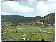 Das Dorf vor dem Schnorchelausflug
